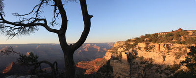 Por do sol de Grand Canyon Fotografia de Stock Royalty Free