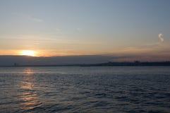 Por do sol de Istambul Foto de Stock Royalty Free