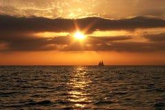 Por do sol de Key West Fotografia de Stock Royalty Free