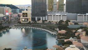 Por do sol de Las Vegas do lapso de tempo firmemente video estoque