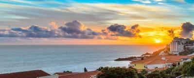 Por do sol de Lido Imagem de Stock Royalty Free