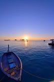 Por do sol de Maldivas fotos de stock