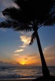 Por do sol de Phuket Imagens de Stock