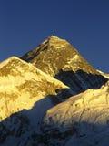 Por do sol do Mt Everest fotos de stock