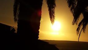 Por do sol do respingo da cor Foto de Stock