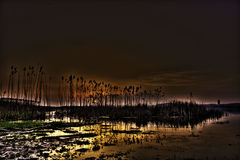 Por do sol dos sonhos Foto de Stock