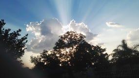 Por do sol em Barberton Foto de Stock Royalty Free