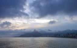 Por do sol em Brasil Imagem de Stock Royalty Free