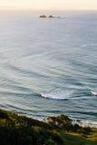 Por do sol em Byron Bay Imagens de Stock Royalty Free