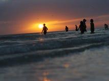 Por do sol em Florida Imagens de Stock