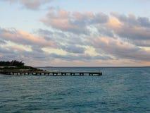 Por do sol em fotos do estoque de Jamaica Foto de Stock Royalty Free