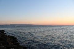 Por do sol em Gallipoli Imagens de Stock Royalty Free