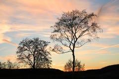 Por do sol em Helsínquia Imagem de Stock Royalty Free