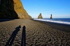 Por do sol em Islândia Fotografia de Stock Royalty Free