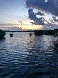 Por do sol em Key West fotos de stock royalty free