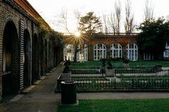 Por do sol em Londres Imagem de Stock Royalty Free