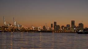 Por do sol em Miami, EUA video estoque