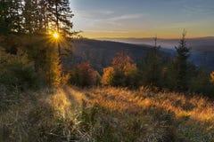 Por do sol em Polana Fotografia de Stock Royalty Free