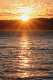 Por do sol em San Francisco Imagens de Stock Royalty Free