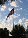 Por do sol em Springdale Imagem de Stock