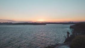 Por do sol em Sydney 4K filme