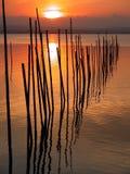Por do sol em Valença Imagem de Stock Royalty Free