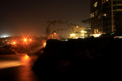 Por do sol La Jolla, CA Imagem de Stock Royalty Free