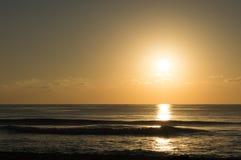 Por do sol méxico Fotos de Stock