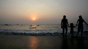 Por do sol na praia vídeos de arquivo
