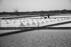 Por do sol na praia de Chaam Foto de Stock