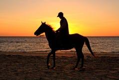 Por do sol na praia de Ifaty Imagens de Stock Royalty Free