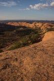 Por do sol na rocha da baleia Imagens de Stock Royalty Free