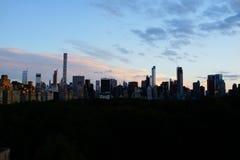 Por do sol na zona leste superior 3 Imagens de Stock