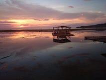 Por do sol no calatagn Fotografia de Stock Royalty Free
