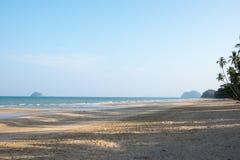 Por do sol no distrito de Sawi Imagens de Stock
