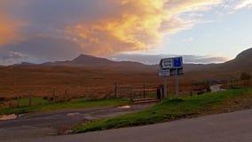 Por do sol no Quiraing na ilha de Skye - Escócia filme