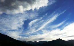 Por do sol RMNP Imagem de Stock