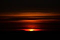 Por do sol surreal Fotos de Stock Royalty Free