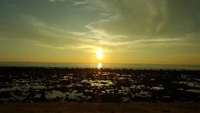 Por do sol Tailândia Fotos de Stock