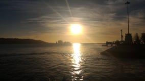 Por doet Sol Lisboa Royalty-vrije Stock Foto's