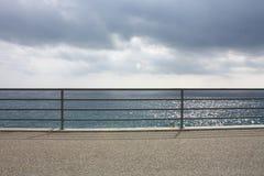 Por el mar imagen de archivo