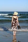 Por el mar Fotografía de archivo