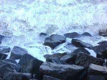 Por el mar Fotos de archivo libres de regalías