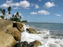 Por el mar Imagen de archivo libre de regalías