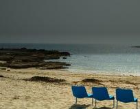 Por el océano Foto de archivo