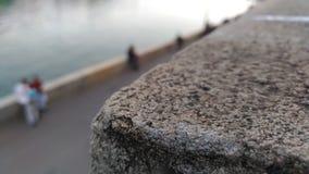Por el río Fotos de archivo