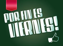 Por-Flosse es-viernes Lizenzfreies Stockbild