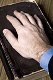 Por juramento Foto de archivo libre de regalías
