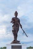 Por Khun Ramkhamheng由泰国皇家军队修建 免版税库存图片
