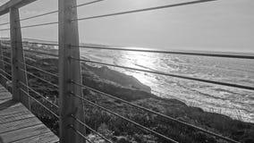 Por la costa Foto de archivo libre de regalías
